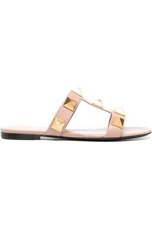 VALENTINO GARAVANI Women Sandals - Roman Stud slide sandals