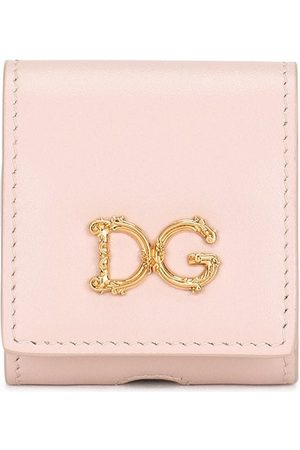 Dolce & Gabbana Women Phone Cases - Logo-plaque AirPods case