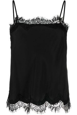 Gold Hawk Lace-trim camisole
