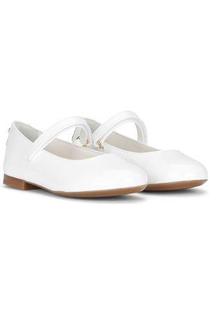 Dolce & Gabbana Round-toe ballerina shoes