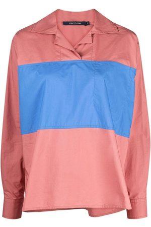 SOFIE D'HOORE Women Polo Shirts - Colour-block polo top