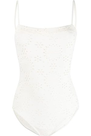 ERES Edition broderie anglaise swimsuit