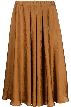 BLANCA High-waisted pleated skirt