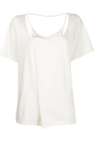 GOEN.J Women Tops - Layered cotton-modal blend top