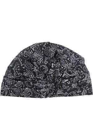 10 CORSO COMO Women Hats - Sketch-print turban hat