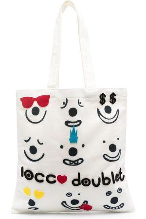 10 CORSO COMO Smile-print tote bag