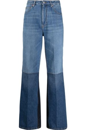 Victoria Beckham Two-tone flared jeans