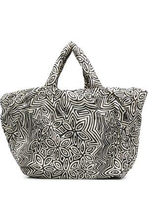 10 CORSO COMO Pouffy floral-print tote bag