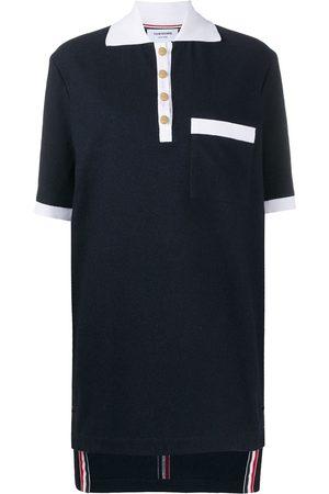Thom Browne RWB-stripe polo dress