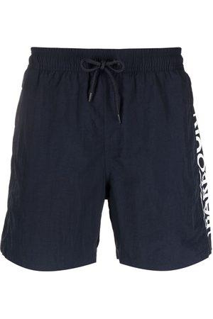 Barbour Logo-print swim shorts