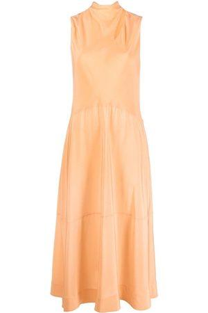 Victoria Victoria Beckham Women Maxi Dresses - Draped strap-detail maxi dress