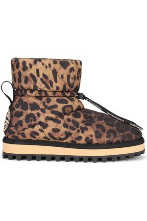 Dolce & Gabbana Women Ankle Boots - City leopard-print ankle boots