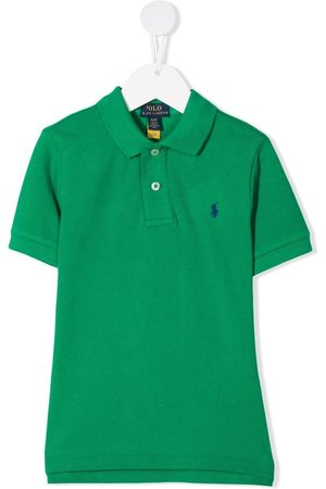Ralph Lauren Boys Polo Shirts - Logo-embroidered polo shirt