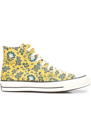 Converse Men Sneakers - Floral-print high-top sneakers