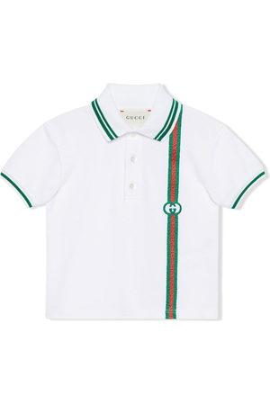 Gucci Interlocking-G Web polo shirt