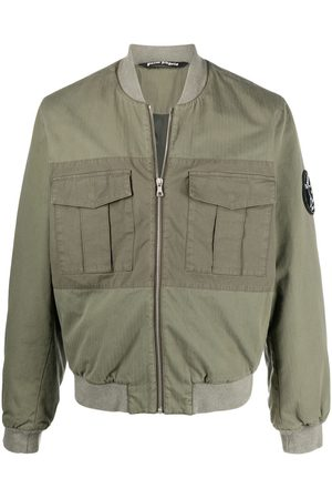 Palm Angels Men Bomber Jackets - Military Wings bomber jacket