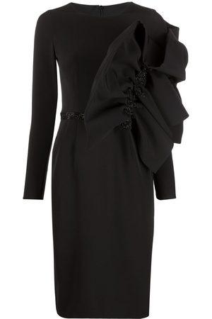LOULOU Women Asymmetrical Dresses - Asymmetric midi dess