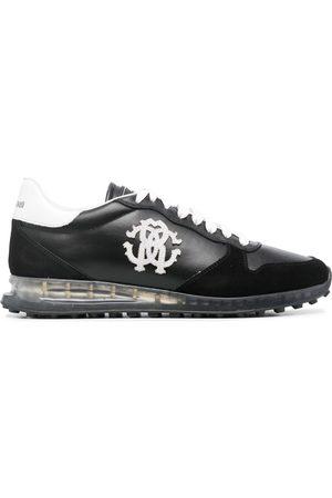Roberto Cavalli Men Sneakers - Logo-patch low-top sneakers
