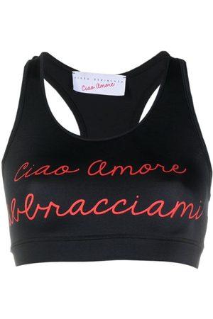 GIADA BENINCASA Women Tank Tops - Ciao Amore cropped tank top