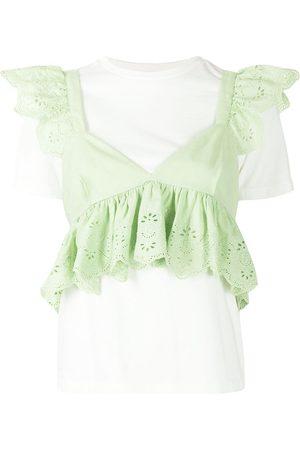 BAPY BY *A BATHING APE® Women Blouses - Ruffle-trim blouse