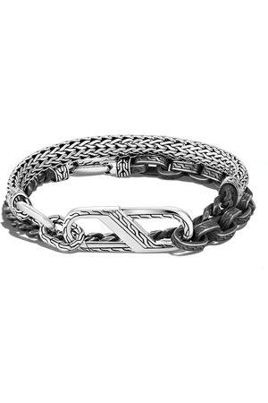 John Hardy Classic Chain wrap carabiner clasp bracelet