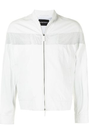 Emporio Armani Perforated-panel jacket
