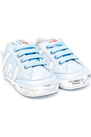 Premiata Boys Sneakers - Logo-patch lace-up sneakers