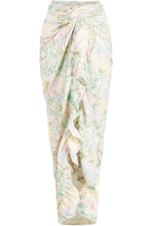 Brigitte Women Beach Dresses - Print Pôr do Sol long cover-up