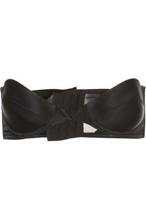 Kiki de Montparnasse Women Strapless & Multiway Bras - Push-up strapless satin bra