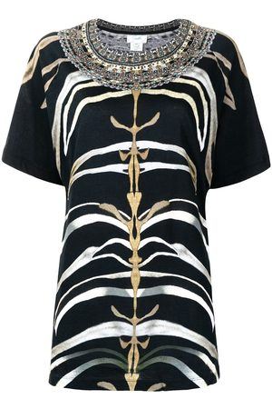 Camilla Women T-shirts - Zebra-print raglan T-shirt