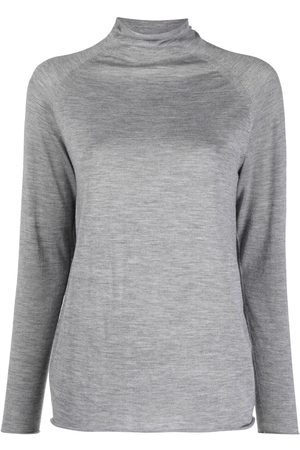 Kiton Women Jumpers - Roll neck knitted jumper