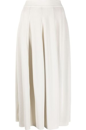 GENTRYPORTOFINO High-waisted pleated skirt