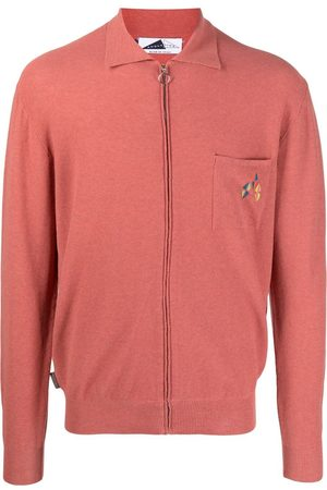 Anglozine Zip-up knitted jumper