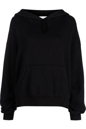 JOHN ELLIOTT Oversize crop fleece hoodie