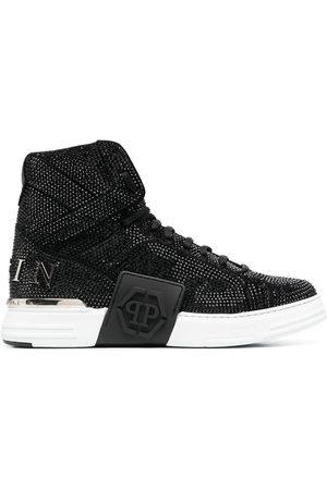 Philipp Plein Money Kicks crystal-embellished sneakers