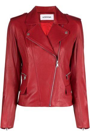 SYLVIE SCHIMMEL Glove zip-up biker jacket