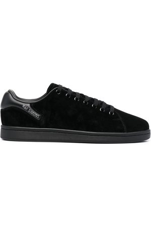 BAPE BLACK *A BATHING APE® Padded heel counter lace-up sneakers