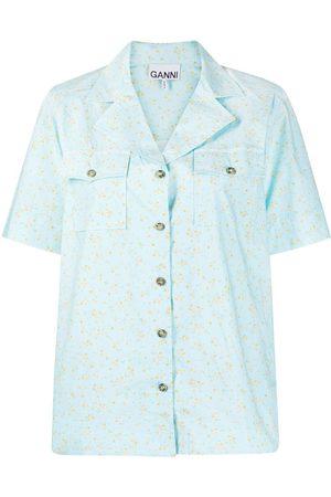 Ganni Women Pyjamas - Floral-print pyjama shirt