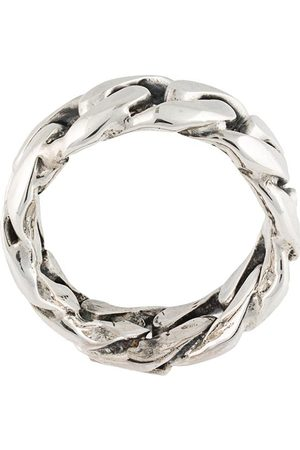 EMANUELE BICOCCHI Men Rings - Rigid chain ring