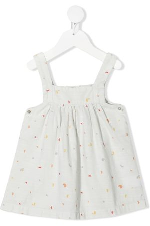 KNOT Baby Casual Dresses - Music pinafore dress