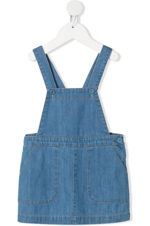 KNOT Carol denim pinafore dress
