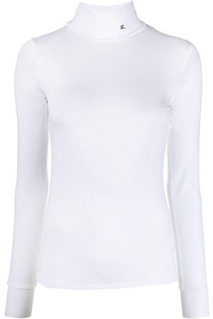 RAF SIMONS Women Long Sleeve - Logo-embroidered roll neck