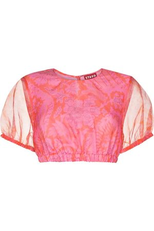 Staud Women Crop Tops - Frieze cropped top