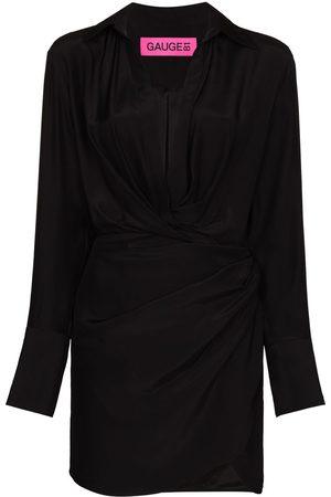 GAUGE81 Women Party Dresses - Naha V-neck minidress