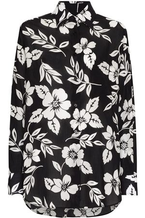 Tom Ford Floral-print long-sleeve shirt
