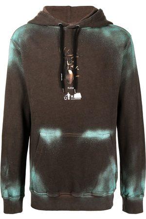 MAUNA KEA Spray deer hoodie