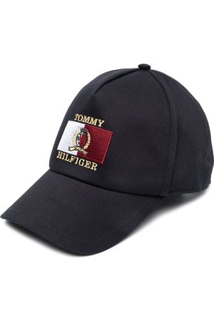 Tommy Hilfiger Embroidered-logo cotton baseball cap