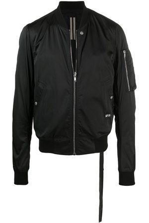 Rick Owens Men Bomber Jackets - Zip-pocket sleeve jacket