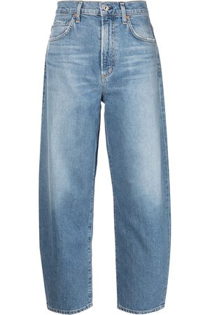 Citizens of Humanity Women Straight - High rise curved jeans