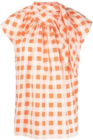 Victoria Victoria Beckham Geometric-print blouse